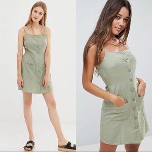 ASOS Button Down Cami Dress